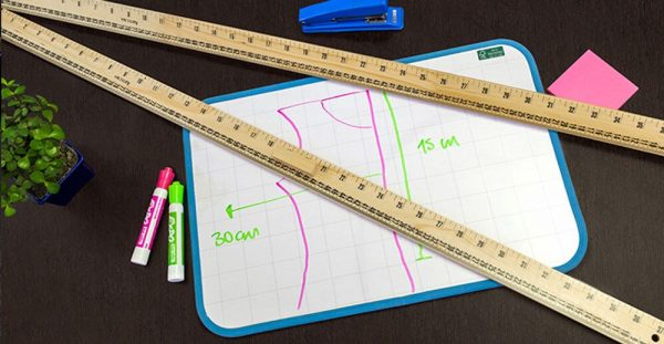 Regla 100 cms. sin mango